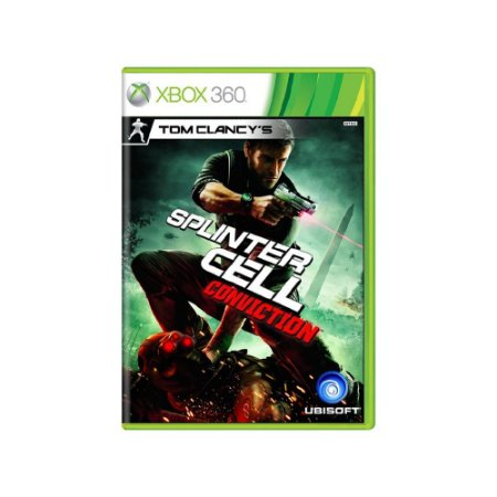 Tom Clancy's Splinter Cell Conviction - Usado - Xbox 360