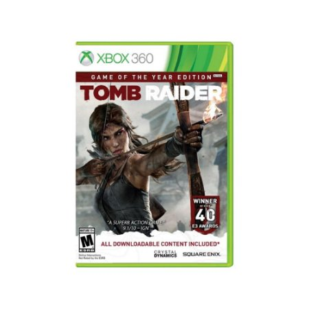 Tomb Raider Game Of The Year Edition - Usado - Xbox 360