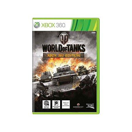 World of Tanks - Usado - Xbox 360