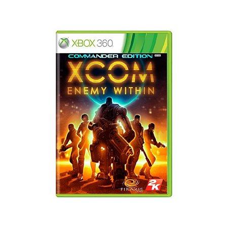 XCOM Enemy Within - Usado - Xbox 360