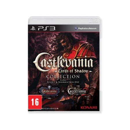 Castlevania Lords of Shadow Colletion - Usado - PS3