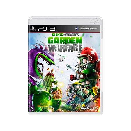 Plants Vs. Zombies: Garden Warfare - Usado - PS3