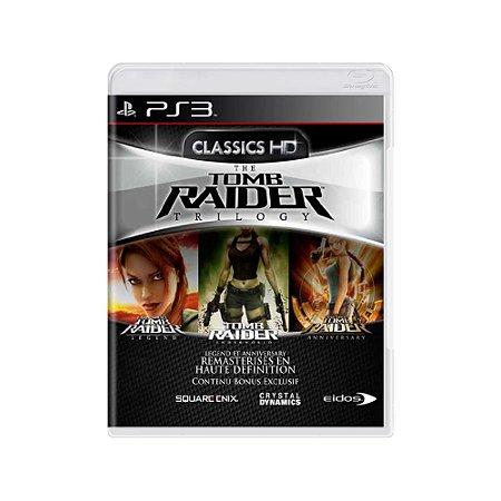 Tomb Raider Trilogy - Usado - PS3