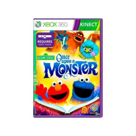 Sesame Street Once Upon A Monster - Usado - Xbox 360