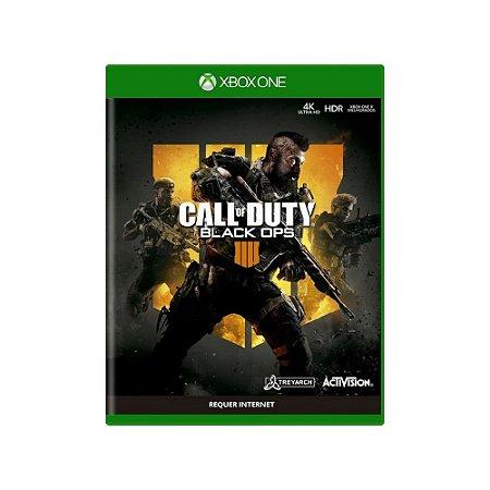 Call of Duty Black Ops 4 - Usado - Xbox One