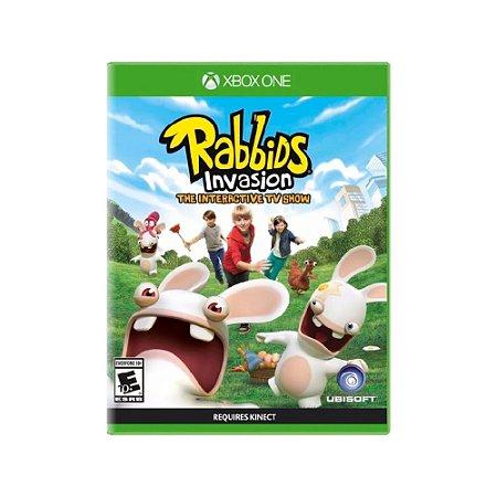Rabbids Invasion - Usado - Xbox One