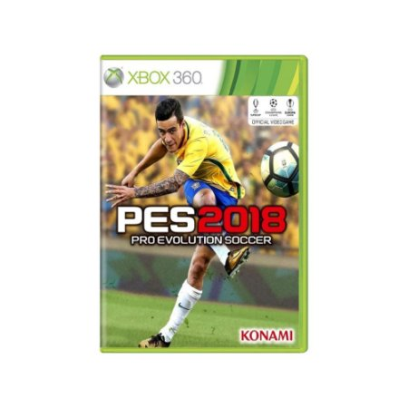 Pro Evolution Soccer 2018 (PES 2018) - Usado - Xbox 360