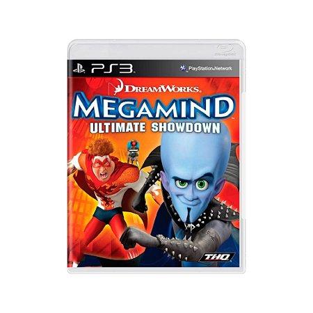 Megamind Ultimate Showdown - Usado - PS3