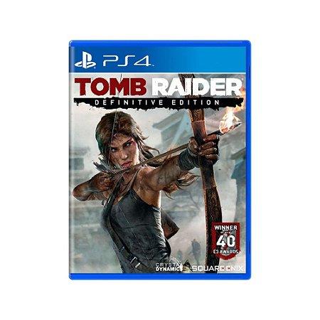 Tomb Raider (Definitive Edition) - Usado - PS4