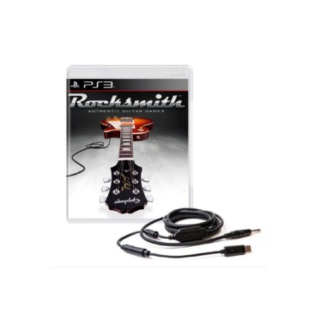 Rocksmith + Cabo - Usado - PS3