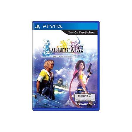Final Fantasy X/X2 HD Remaster (Sem Capa) - Usado - PS Vita
