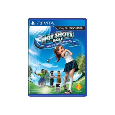 Hot Shots Golf World Invitational Sem Capa - Usado - PS Vita