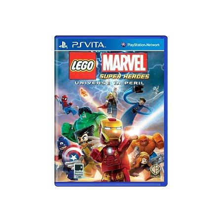 LEGO Marvel Super Heroes Universe In Peril - Usado - PS Vita
