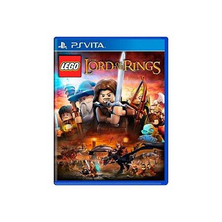 LEGO The Lord of the Rings (Sem Capa) - Usado - Ps Vita