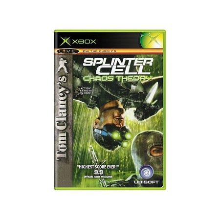 Tom Clancy's Splinter Cell: Chaos Theory - Usado - Xbox