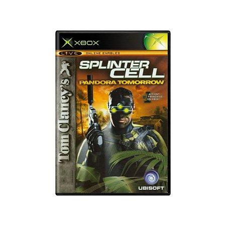 Tom Clancy's Splinter Cell Pandora Tomorrow - Usado - Xbox