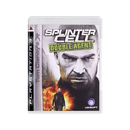 Tom Clancy's Splinter Cell Double Agent - Usado - PS3