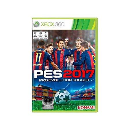 Pro Evolution Soccer 2017 (PES 17)  - Usado - Xbox 360