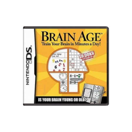 Brain Age Train your Brain Minutes a Day (Sem Capa)-Usado-DS