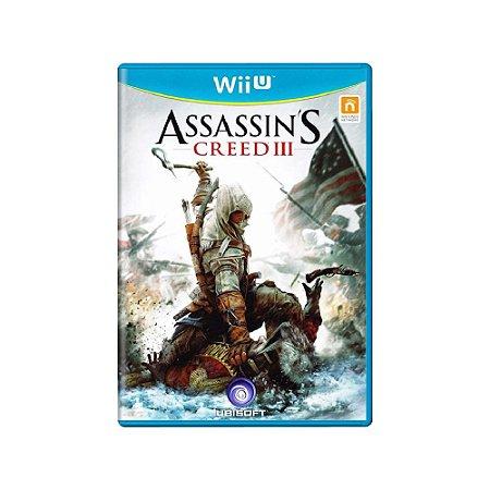 Assassin's Creed III - Usado - Wii U