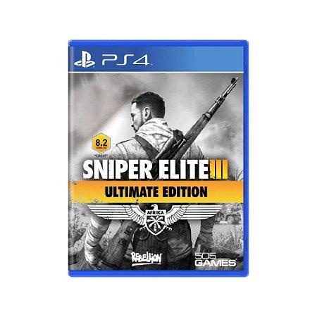 Sniper Elite III (Ultimate Edition) - Usado - PS4