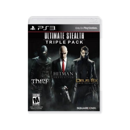 Pacote Ultimate Stealth Triple - Usado - PS3