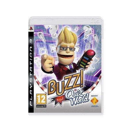 Buzz! Quiz World - Usado - PS3
