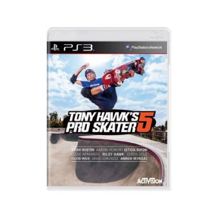 Tony Hawk's Pro Skater 5 - Usado - PS3