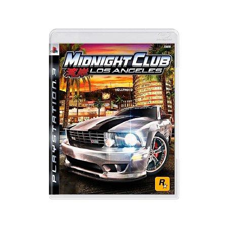Midnight Club Los Angeles - Usado - PS3