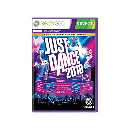 Just Dance 2018 - Usado - Xbox 360