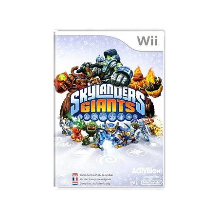 Skylanders Giants - Usado - Wii