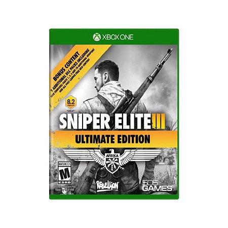 Sniper Elite III (Ultimate Edition) - Usado - Xbox One