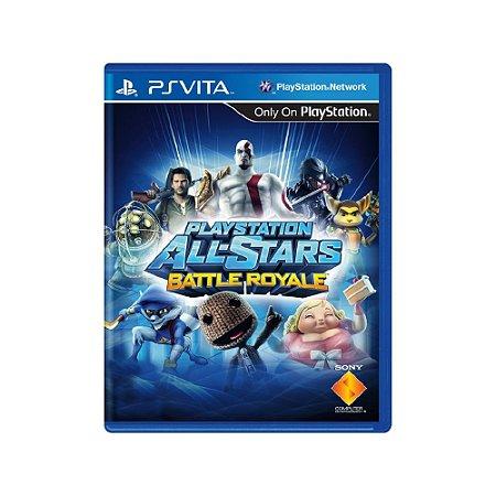Playstation All Stars Battle Royale (Sem Capa) Usado Ps Vita