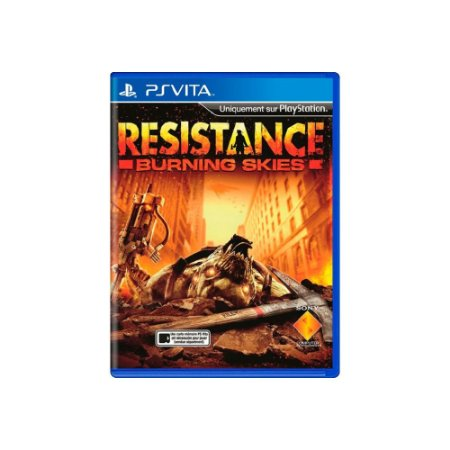 Resistance Burning Skies - Usado - PS Vita