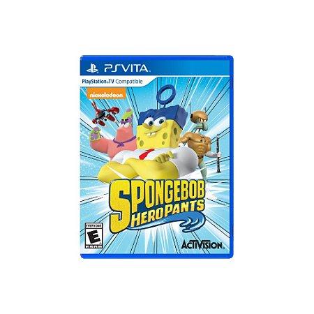 Spongebob HeroPants (Sem Capa) - Usado - Ps Vita