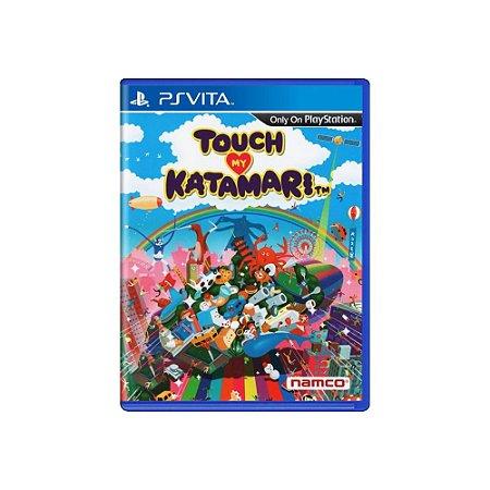 Touch My Katamari (Sem Capa) - Usado - PS Vita