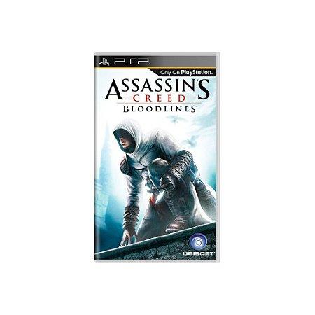 Assassin's Creed Bloodlines (Sem Capa) - Usado - PSP