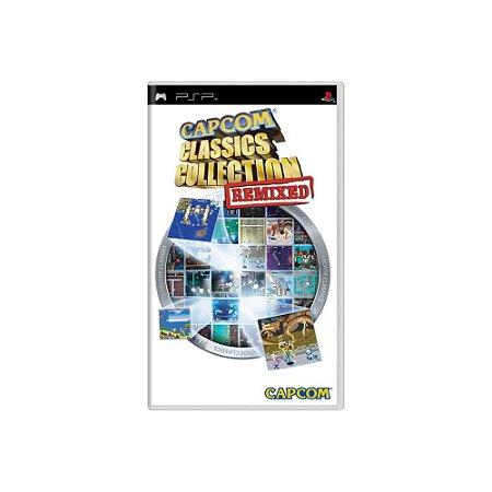 Capcom Classics Collection Remixed - Usado - PSP