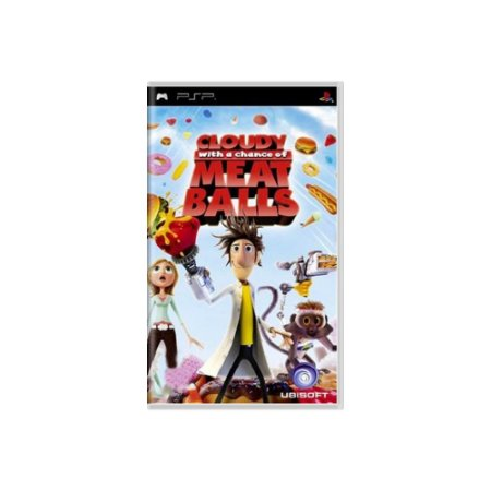 Cloudy With A Chance Of Meatballs - Usado - PSP