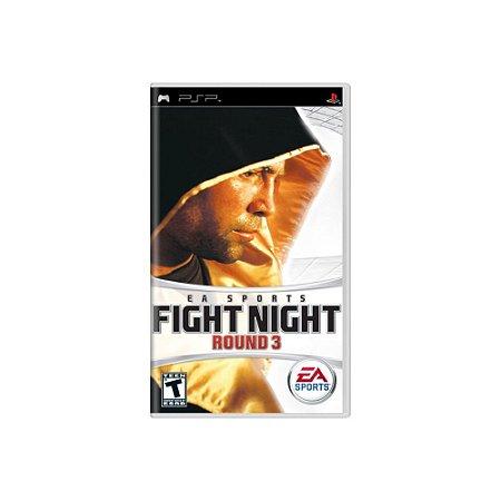 Fight Night Round 3 - Usado - PSP