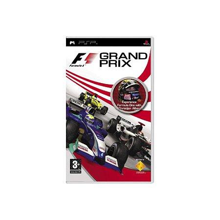 F1 Grand Prix (Sem Capa) - Usado - PSP