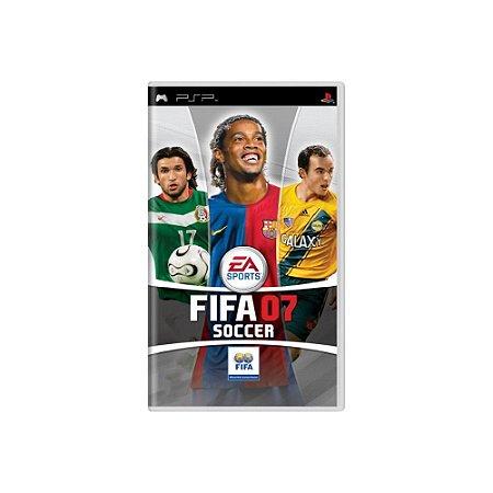 FIFA Soccer 07 - Usado - PSP