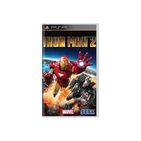 Iron Man 2 - Usado - PSP