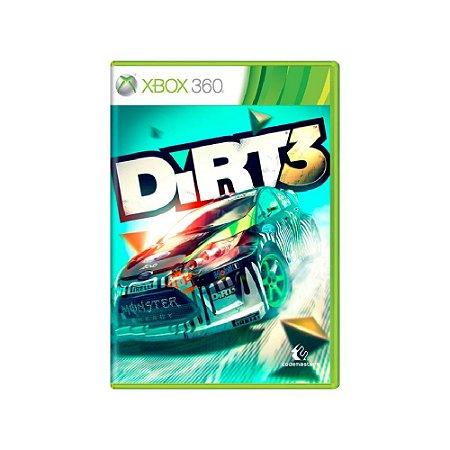 Dirt 3 - Usado - Xbox 360