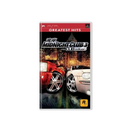 Midnight Club 3 DUB Edition - Usado - PSP