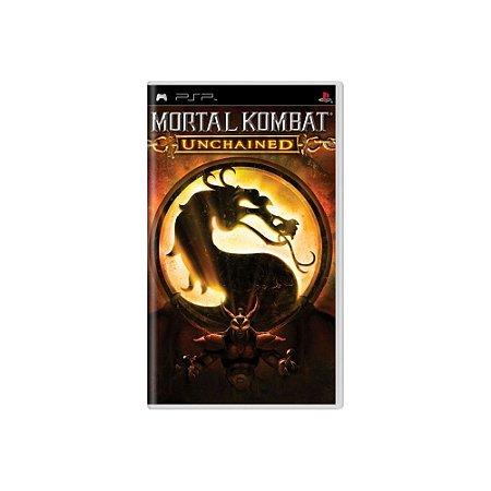Mortal Kombat Unchained (Sem Capa) - Usado - PSP