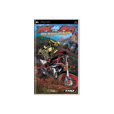 MX vs ATV On the Edge (Sem Capa) - Usado - PSP