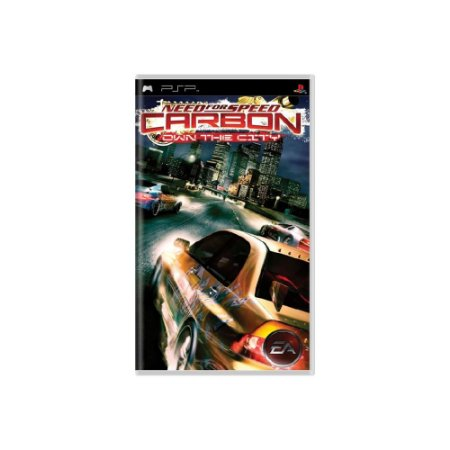 Need for Speed Carbon Own The City (Sem Capa) - Usado - PSP
