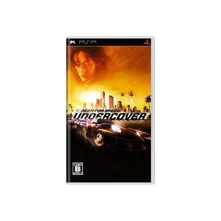 Need for Speed Undercover (Sem Capa) - Usado - PSP
