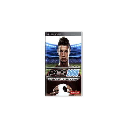 Pro Evolution Soccer 2008 (PES 08) (Sem Capa) - Usado - PSP